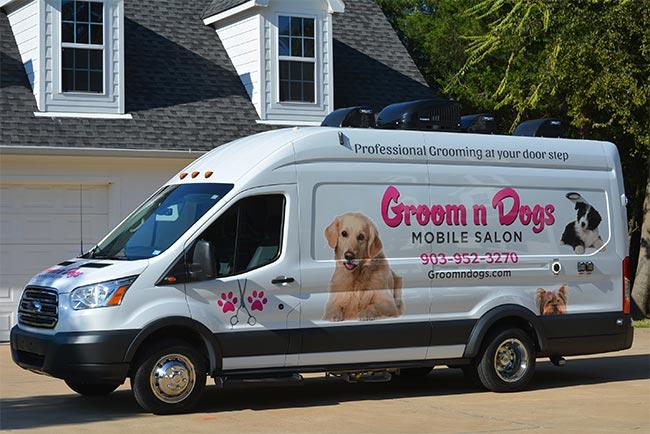 Mobile Dog Groomer | Pet Grooming | Mobile Dog Spa | Tyler Texas